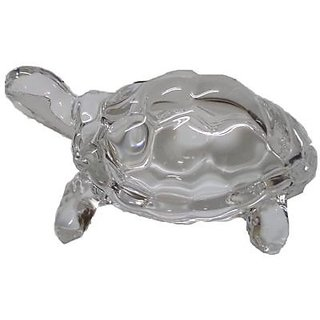 Indo Crystal Peramid Turtle In Glass Handicraft