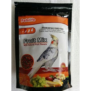 Petslife Cockatiles Birds food 200g - Daily Birds food