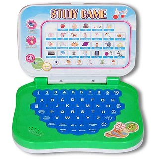 Homeshopeez Kids English Learning Mini Laptop