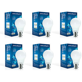 EcoEarth 3 WATT LED BULB Pack Of 6 (BIS Approved) Direct From Manufacturer
