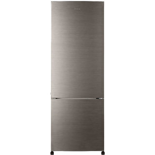 Haier 345 Ltrs Hrb3654Bs Refrigerator Bottom Freezer Brushed Silver
