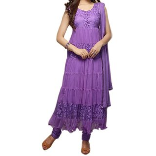 Gayatri feb semi-stiched salwar-suit dress materials (Unstitched)