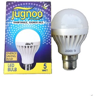 Jugnoo 5W White LED Bulb (Pack Of 4)