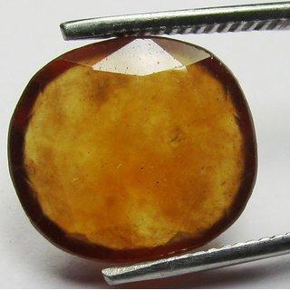 7.5 Ratti Lovely Hessonite Gomed Garnet Gemstone