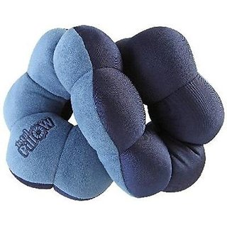 Total Comfort Pillow Twist Travel Neck Cushion Back Head Versatile Pillow