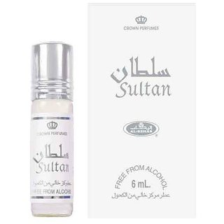 AL REHAB - SULTAN - Attar (Ithar) 6ML - Alcohol FREE - FREE SHIPPING