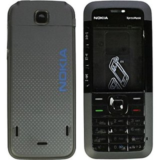 Buy Nokia 5310 Xpressmusic Full Housing Body Panel Black Online