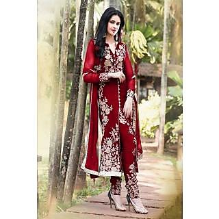 Leelavati Designer Red pakistani dress