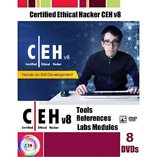 CEH v8 Tools And Video Course + References + Labs Module On 8DVDs