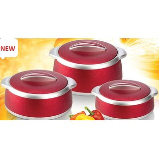Lvhomeware celebrity insulated casserole 3pcs set