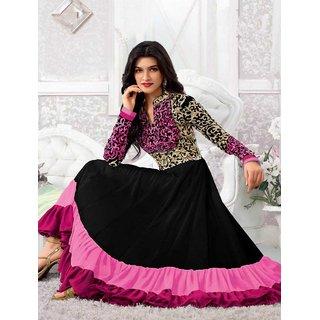 Thankar Kriti Senon New Pink Designer Anarkali Suits