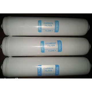 In-line filter for RO water filter parts (3 Inline RO filter+6 Steam elbow)