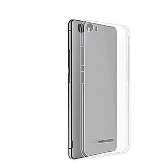 hot sale online d06ab 6508e Snaptic Soft Transparent Back Cover For Micromax Canvas 5 E481