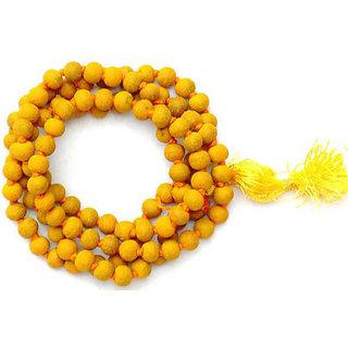 Buy Siddha (Prana Prathistit ) Haldi Mala for Baglamukhi Puja Turmeric Rosary