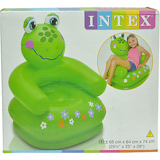 Intex Frog Inflatable Chair (Multicolor)