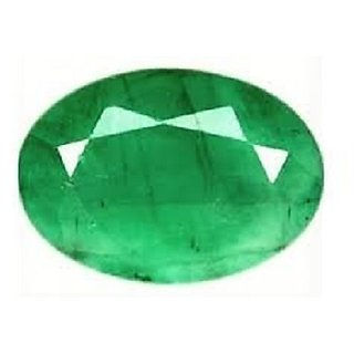 Certified  100 Natural Emerald Gemstone (Panna) 7.25 Ratti BY THE GALLERY OF GEMSTONE