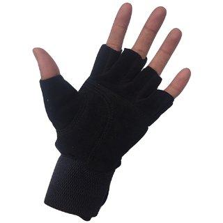 Greenbee Black Gym Gloves N