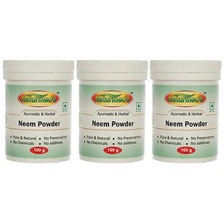 Naturmeds NEEM (AZADIRACHTA INDICA)POWDER - 100GRMS JAR(PACK OF 3)