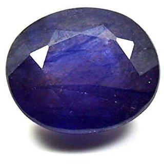 Blue Sapphire Gemstone Certified  Neelam Loose Natural Certified Precious Stone  5.25 Ratti