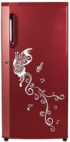 Decor Villa Fridge Sticker (Butterfly,Surface Covering Area 13 x 30 Inch)