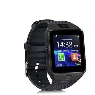 DZ09 Bluetooth Smart Watch Wrist Watch Phone with Camera SIM Card - Black