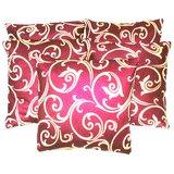 Printed Designed Cushion Cover (Set Of 5 Pcs)