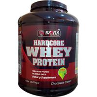 Saara Nutrition Hardcore Whey Protein Powder - 5lb (2.27kg) Chocolate Cream