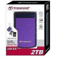 Transcend Storejet H3P 2 TB Ext Hard Disk