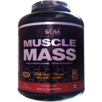 Saara Nutrition MUSCLE MASS  Powder - 6.6lbs (3kg) Vanila