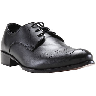 315702c556b0 Buy Franco Leone Black Leather Formal Shoes Online   ₹1798 from ...