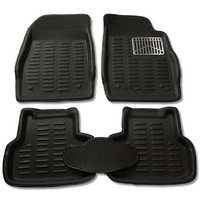Auto Fashion 3D car mat Black Tiago