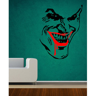 Decor Villa Wall Sticker (Blood In Mouth ,Surface Covering Area 20 x 25 Inch)