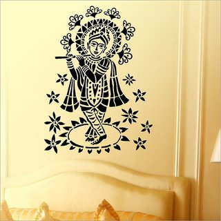Decor Villa Wall Sticker (Shree Krishan Ji ,Surface Covering Area 23 x 32 Inch)
