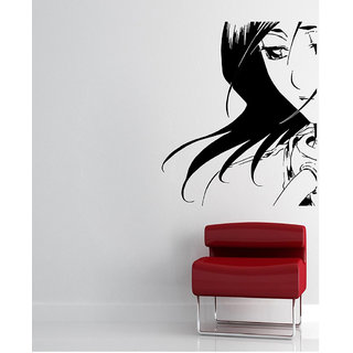 Decor Villa Wall Sticker (Looking Sad ,Surface Covering Area 17 x 20 Inch)