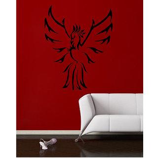 Decor Villa Wall Sticker (Flying Bird ,Surface Covering Area 17 x 21 Inch)