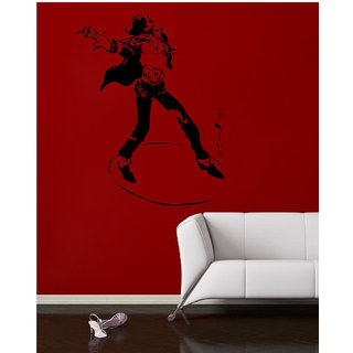 Decor Villa Wall Sticker (Michael Jackson ,Surface Covering Area 20 x 26 Inch)