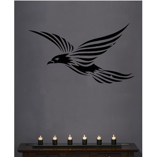 Decor Villa Wall Sticker (Flying Bird ,Surface Covering Area 28 x 16 Inch)