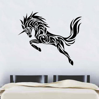 Decor Villa Wall Sticker (Unicorn ,Surface Covering Area 27 x 23 Inch)