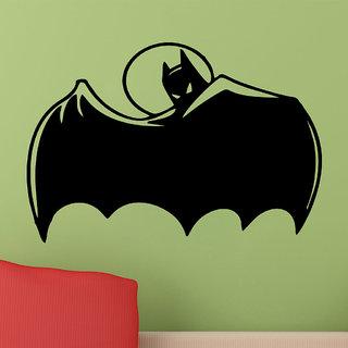 Decor Villa Wall Sticker (Batman ,Surface Covering Area 25 x 17 Inch)