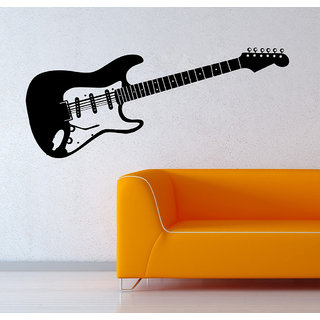 Decor Villa Wall Sticker (Play Guitar ,Surface Covering Area 50 x 21 Inch)