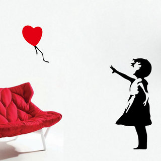 Decor Villa Wall Sticker (Don't Let Me Go Wall ,Surface Covering Area 20 x 42 Inch)