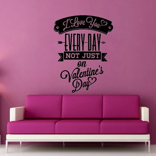 Decor Villa Wall Sticker (Every day Wall ,Surface Covering Area 17 x 23 Inch)