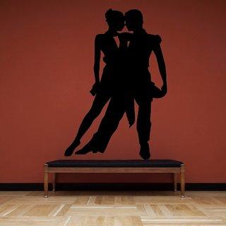 Decor Villa Wall Sticker (Tango dance ,Surface Covering Area 17 x 23 Inch)