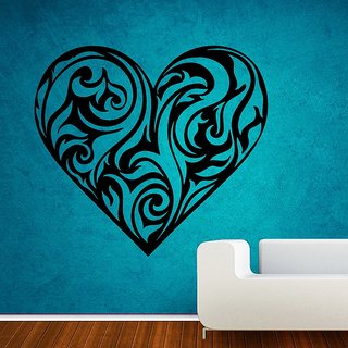 Decor Villa Wall Sticker (Waiting for love ,Surface Covering Area 18 x 17 Inch)