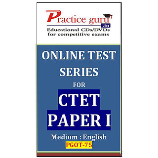CTET Paper I  PGOT-75