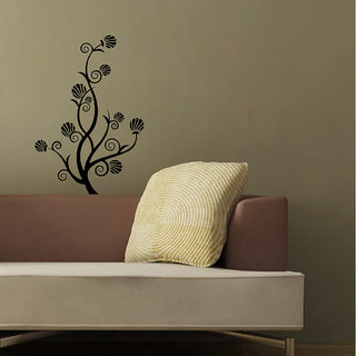 Decor Villa Wall Sticker (Beautiful flower ,Surface Covering Area 17 x 24 Inch)