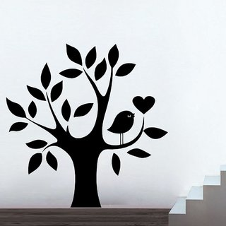 Decor Villa Wall Sticker (Tree Of Life ,Surface Covering Area 23 x 23 Inch)