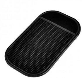 Epresent Non Slip Anti Skid Car Dashboard Mat Set Of 2 (Black)