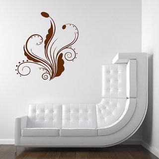 Decor Villa Wall Sticker (Swirl ,Surface Covering Area 17 x 19 Inch)