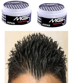 MG5 Styling Wax Hair Styler Combo Tough  Shine and Power  Spikes 100g Each